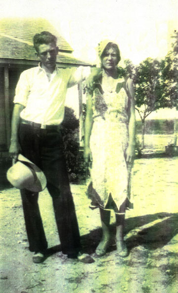 Marvin and sister Avis, about 1930